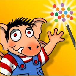 Little Monster at School - Wanderful children's interactive storybook in English and Spanish
