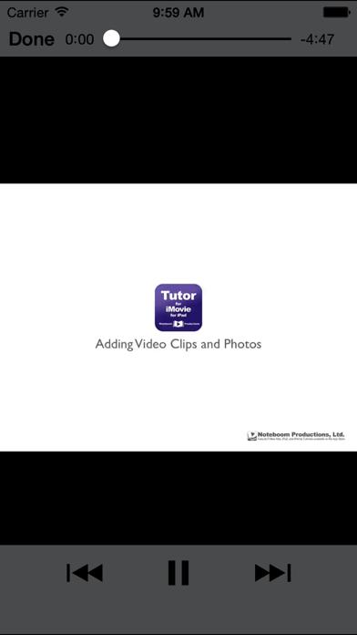 Tutor For Imovie For Ipad review screenshots