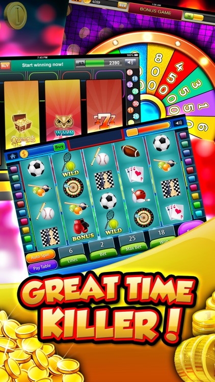 Casino Slots For Real Online - Best Social Slots With Vacation Jackpots screenshot-3