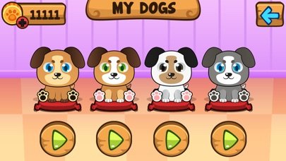 My Virtual Dog Pet Puppy Game For Kids Boys And Girls Screenshot
