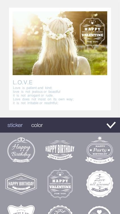 FFrame - Filter Frame, Photo Collage Effect Editor screenshot-3