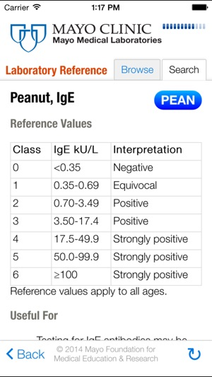 Lab Reference for iPhone on the App Store