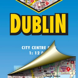 Dublin. City map