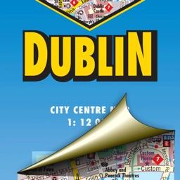 Dublin. City map