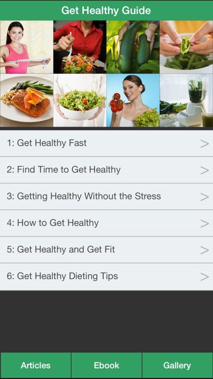Get Healthy Guide - Have a Fit & Healthy with Get Healthy Guide !