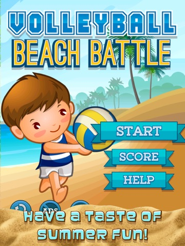A Volleyball Beach Battle Summer Sport Game-ipad-0