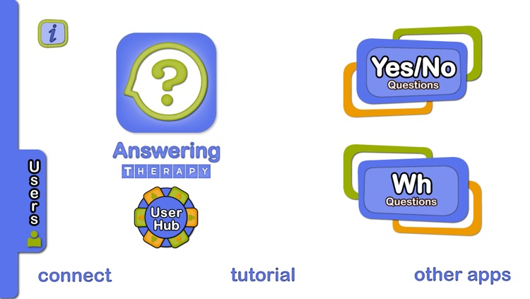 Answering Therapy - Yes/No & Wh Questions for Expressive & Receptive Language screenshot-1
