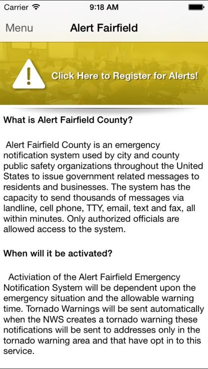 Fairfield County EMA, Ohio