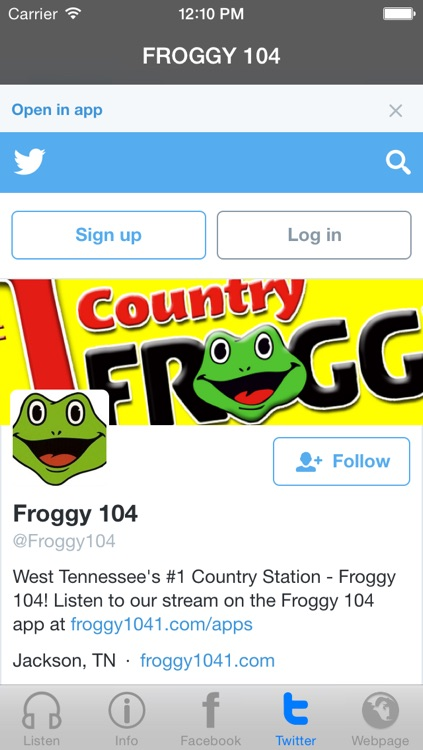 Froggy 104 FM screenshot-4