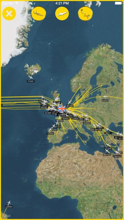iPlane Air - Plane Radar, Live Flight Status