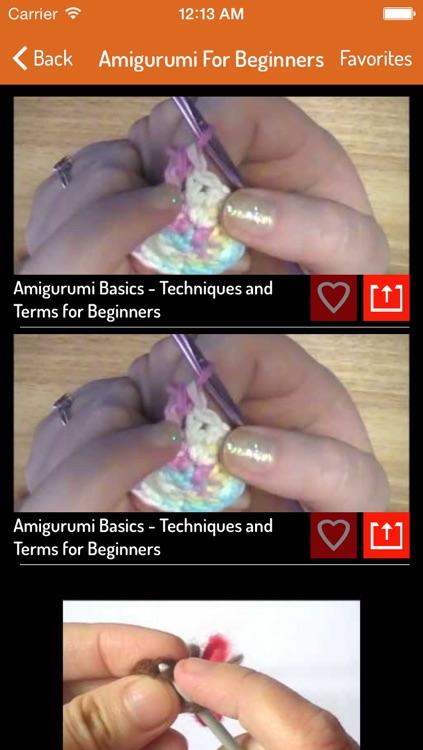 Amigurimi Guide - How To Do Amigurumi