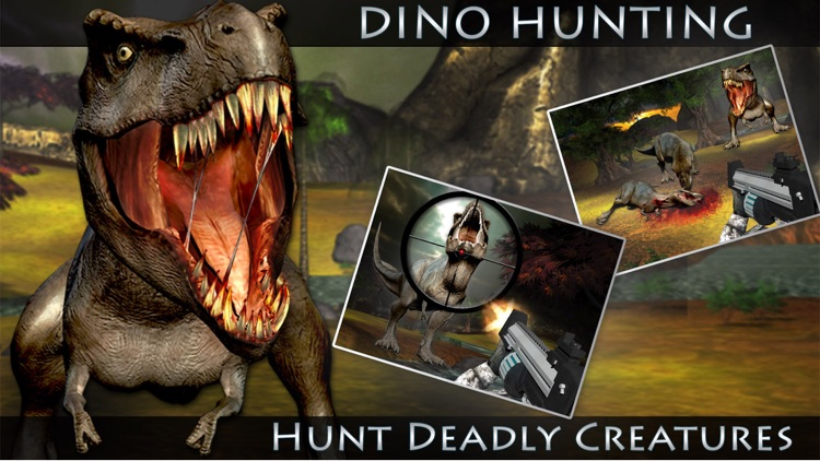 Dino Hunting 3D - Real Army Sniper Shooting Adventure in this Deadly Dinosaur Hunt Game screenshot-3