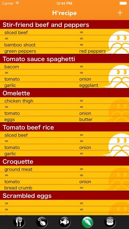 H'recipe 〜Original recipe book - Create a simple〜