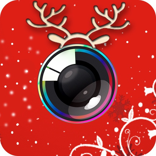 Xmas Dressup Photo Editing App: Use Mustache, Beard With Funny Xmas Stickers And Effects