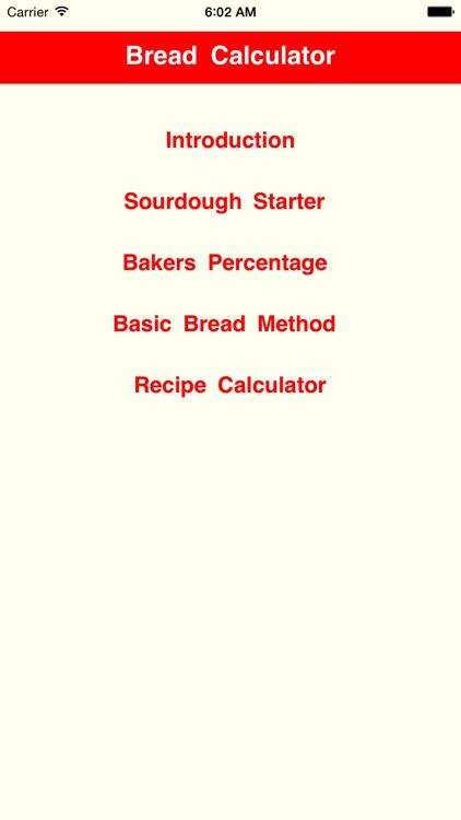 BreadCalculator