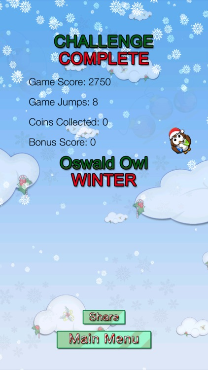 Oswald Owl WINTER Multiplayer