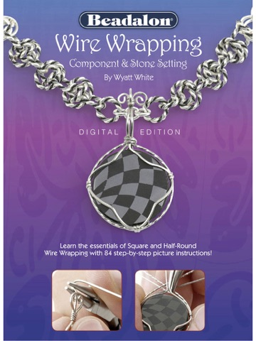 Wire Wrapping Component Stone Setting Digital Edition By