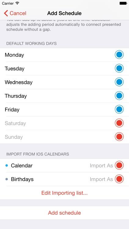 Calendar Calculator Free screenshot-3