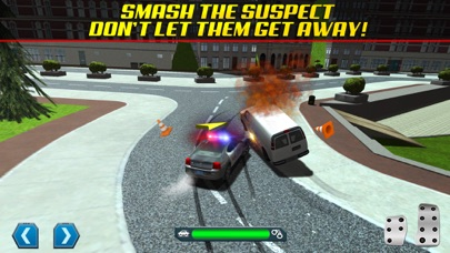 Screenshot from Police Chase Traffic Race Real Crime Fighting Road Racing Game