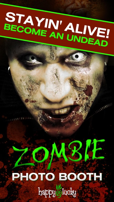 Zombie photo booth screenshot one