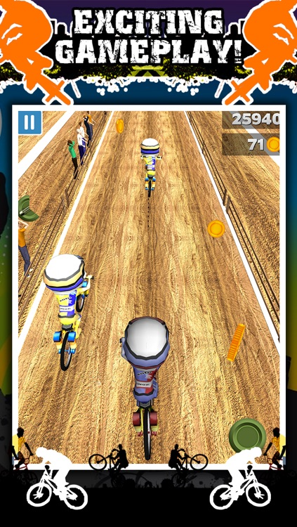 3D BMX Bike Racing Game for Teens by Impossible ATV Race Challenge Games FREE