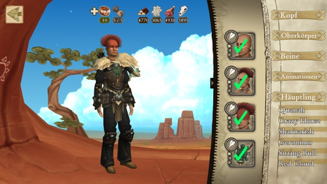 ‎Be Red Cloud-Warriors & Tribes Screenshot