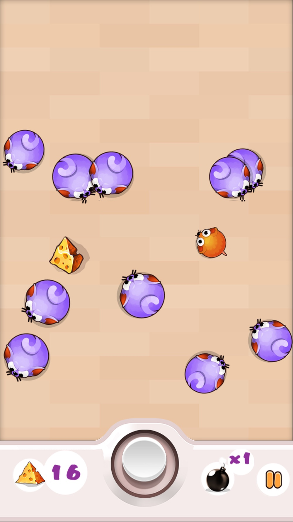 Cheesy Mouse :) - The crazy cats dodge maze game hack tool