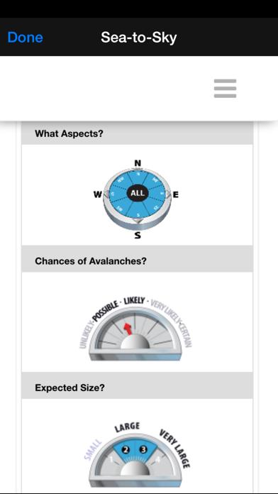 Avalanche Forecasts screenshot four