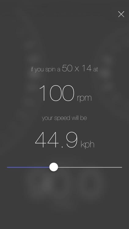 Track Gear Calculator screenshot-3