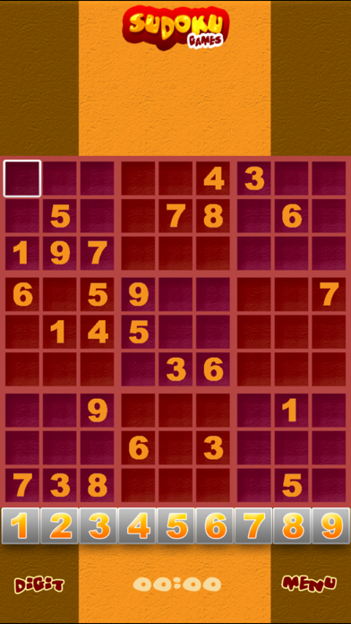 Free Sudoku Puzzle Games screenshot one