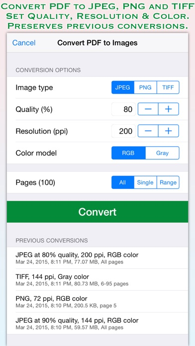 download PDF to JPG for iOS apps 0