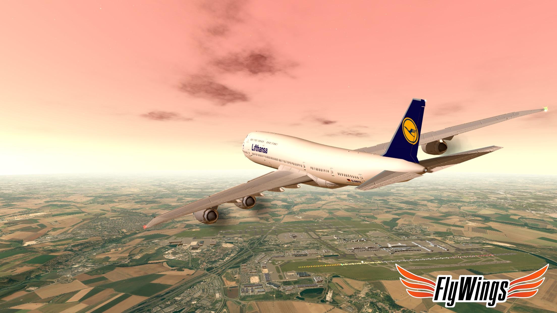 Flight Simulator Paris 2015 Online - FlyWings FREE TO PLAY Screenshot