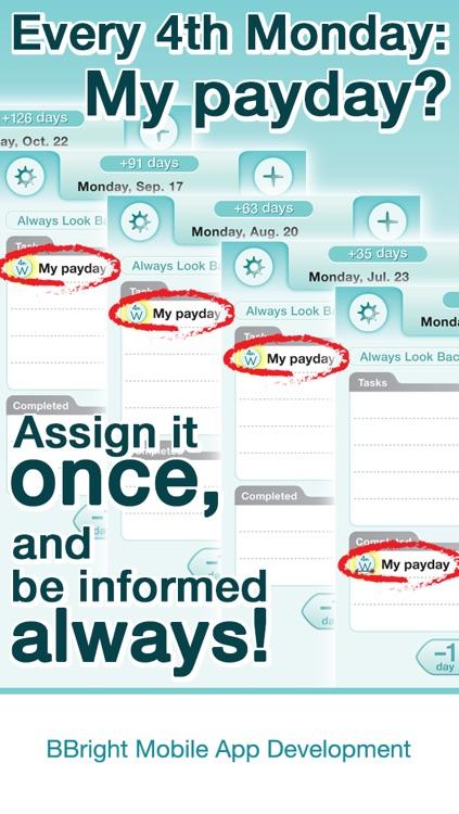 ez Tasking (todo-list+calendar+notes) for iPhone screenshot-3
