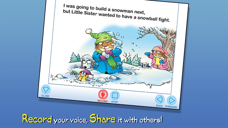 Just a Snowman - Little Critter screenshot-3