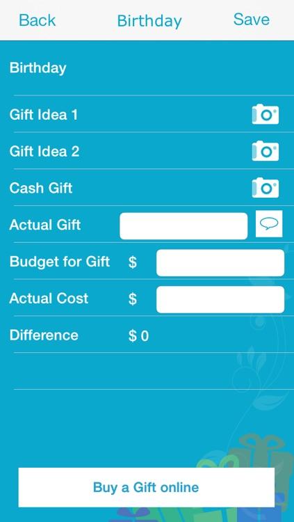 My Gift List! screenshot-4