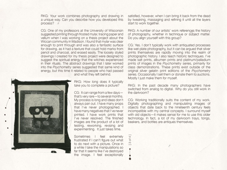 Psychometry | Photographs by Carol Golemboski