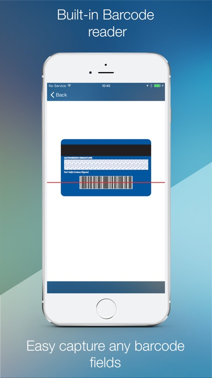 SecurCards: archive and encrypt credit cards and any other card screenshot-3