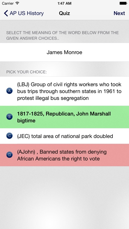AP US History * screenshot-4