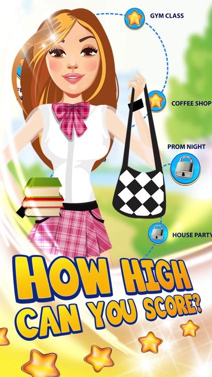 My High School Teen Fashion Girl - Campus Social Life Story Game screenshot-4