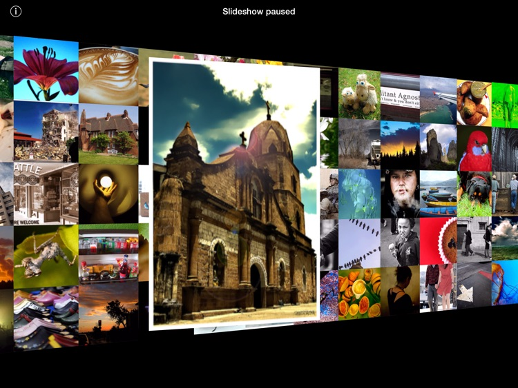 3D Photo Ring HD - Gorgeous Carousel-Based Picture Browser With Color Sorting screenshot-3