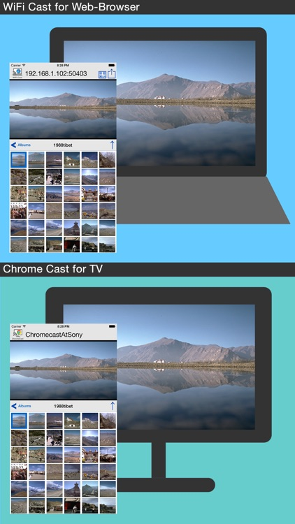 Photo Cast with WiFi for PC & ChromeCast