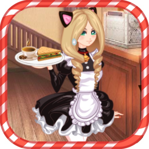Maid Cafe Dress Up icon