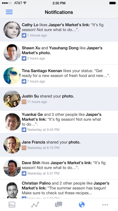 Facebook Pages Manager Screenshot 5
