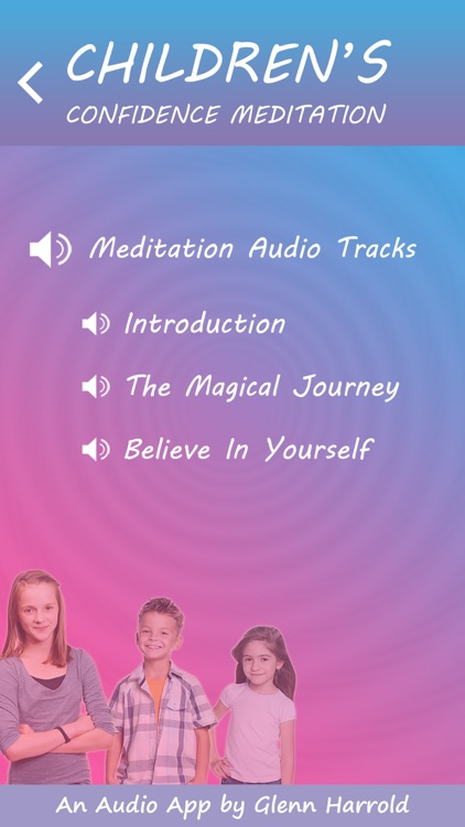 Children's Confidence Meditations by Glenn Harrold: Calming Relaxations for Kids screenshot-2