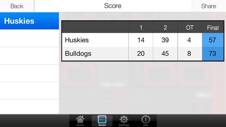 Basketball Scoreboard (Free Version) screenshot-4