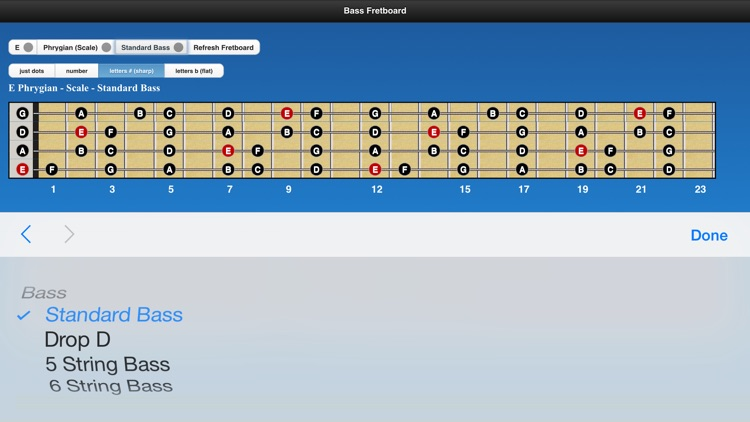 Bass Scales screenshot-4
