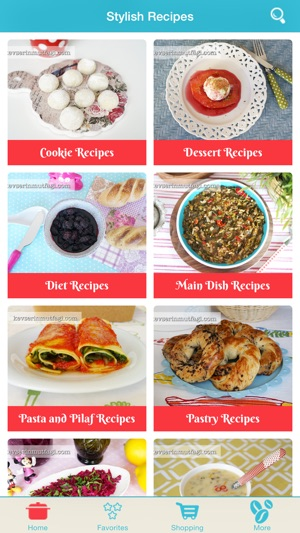 Stylish recipes the best cooking assistant in the kitchen en app store iphone ipad forumfinder Images