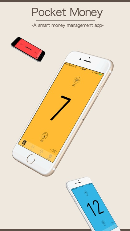 Pocket Money - The stylish household budget app  - screenshot-0