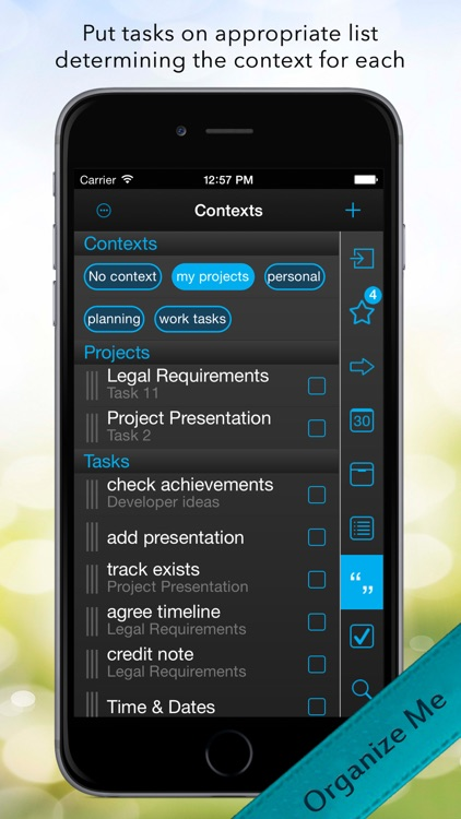 Organize Me for iPhone screenshot-3