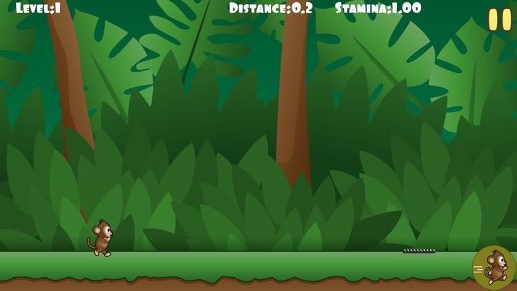 Monkey Run - The Endless Marathon Game